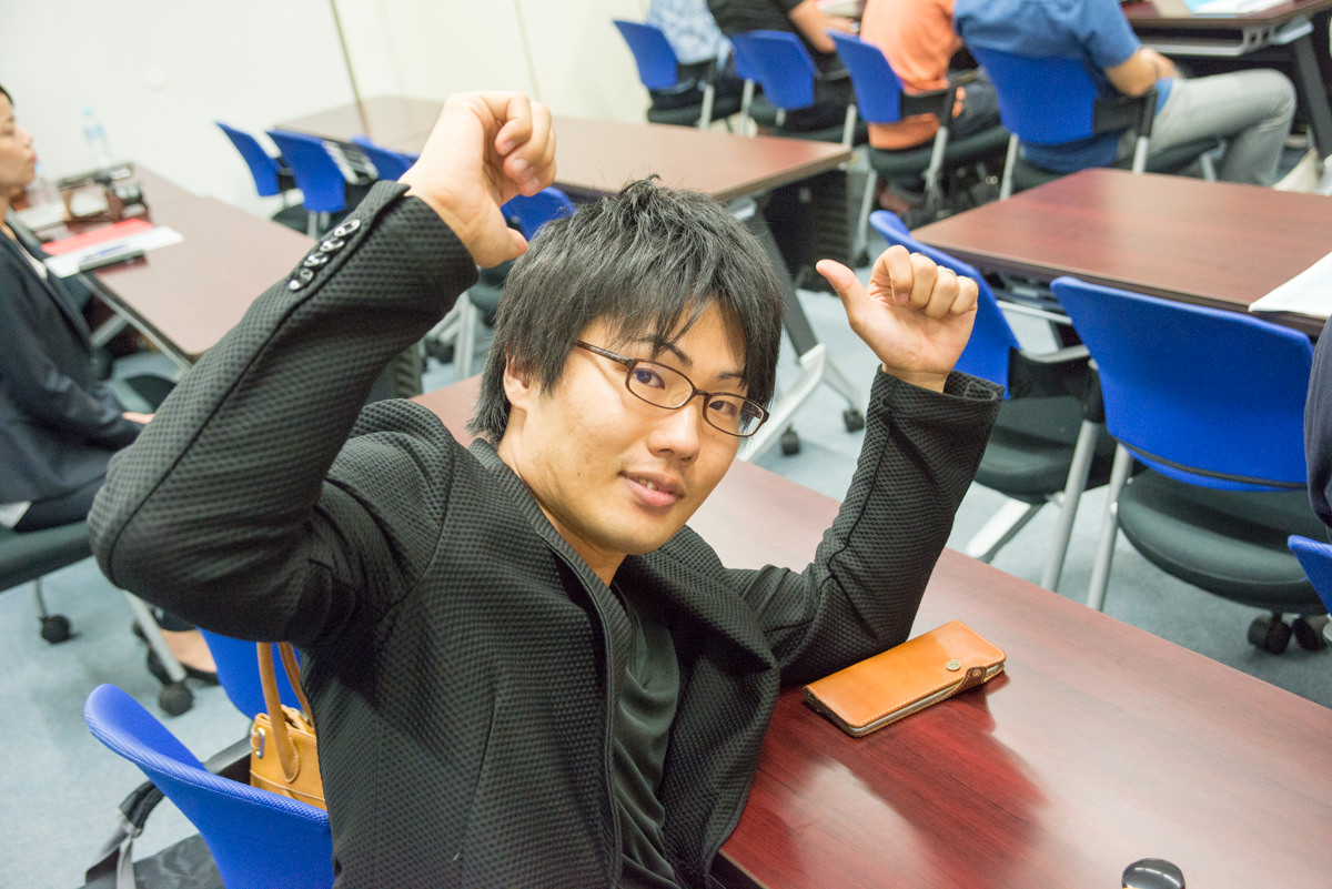 小澤竜太さん(マーチャントクラブNO16)