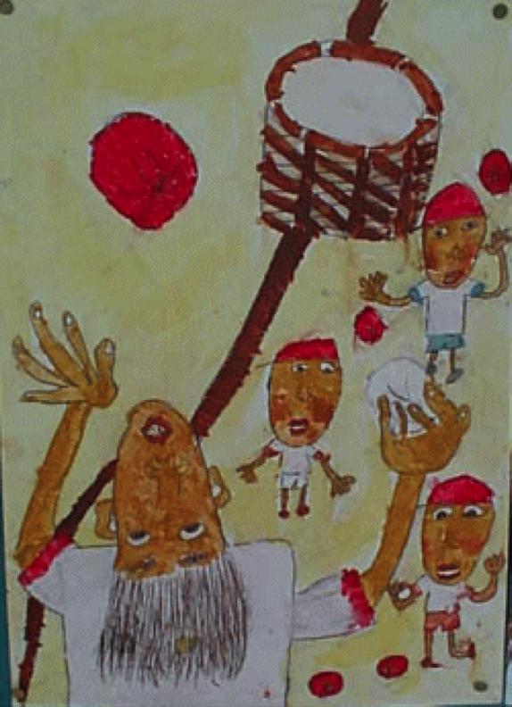 子供の頃の絵